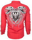 Archaic AFFLICTION Mens BUTTON DOWN Shirt RUSE Buckle BKE Express Roar S-XXL $78