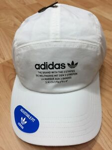 delicate colors authorized site 100% genuine Details about New Adidas Originals NMD Tech Five 5 Panel Running Strapback  White Cap Hat OSFA