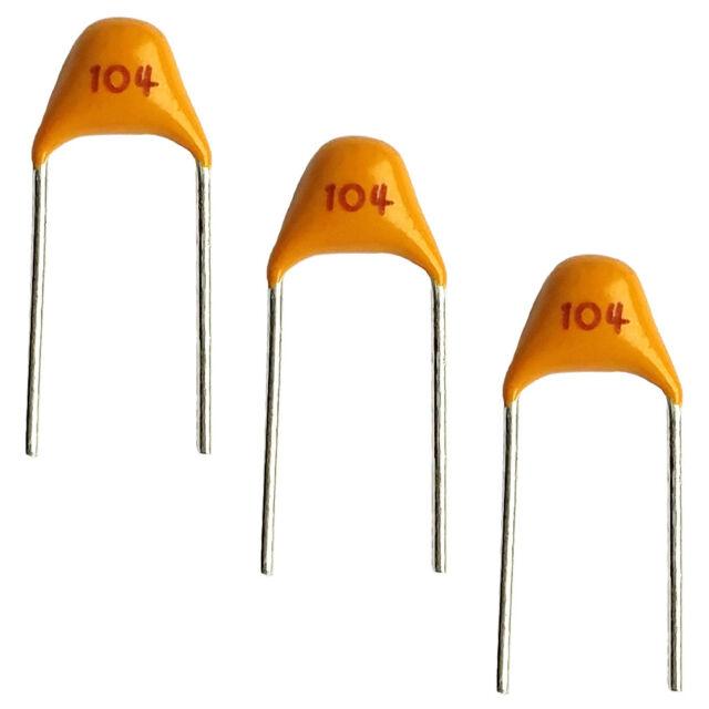 50 x 10pF Ceramic Disc Capacitor 50v Cap 10/% Radial Lead 50 v 10 pf LEDs Caps