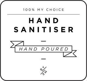 Home & Garden Mini Hand Sanitiser Decal White Household Supplies & Cleaning