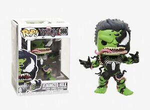 Funko-Pop-Marvel-Venom-Venomized-Hulk-Vinyl-Bobble-Head-Item-32690