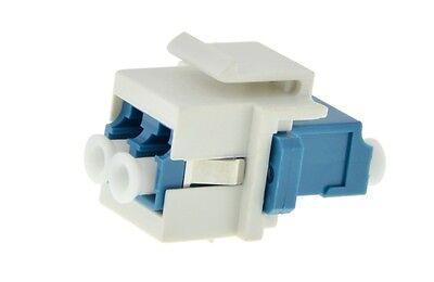 Keystone Modul LWL Glasfaser LC Stecker > LC Stecker, Multimode Simplex, Fiber O