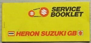 SUZUKI-MOTORCYCLES-GB-Service-Record-Booklet-1980