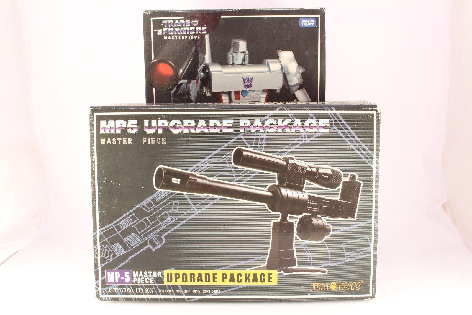 Transformers Masterpiece MP05 Megatron & Justitoys Upgrade Takara