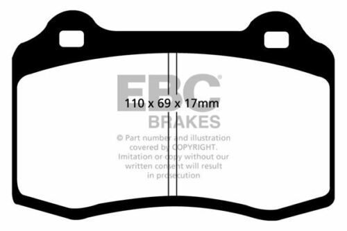 DP1031 EBC Ultimax Front Brake Pads fit ALFA FIAT 147 156 GTV Spider Coupe