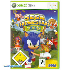 XBox 360 Sega Superstars Tennis + Arcade Compilation Disk - NEU + OVP