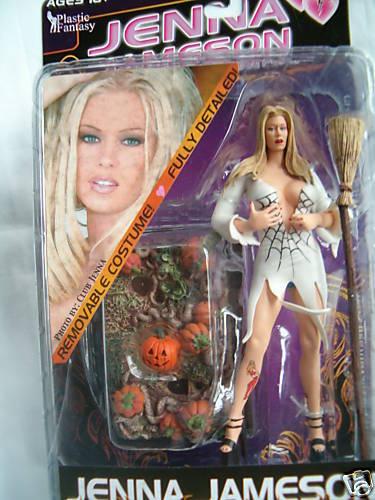 Die superstars action - figur (jenna jameson) halloween
