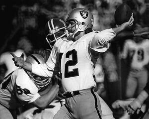 1970s-Oakland-Raiders-KEN-STABLER-Glossy-8x10-Photo-NFL-Football-Print-Poster