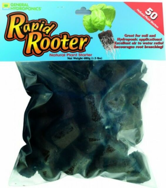 General Hydroponics  Rapid Rooter Replacement Plugs, New, Free Shipping