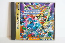 Manual Wear Rockman X3 Mega Man W/ Spine Sega Saturn SS Japan Import US Seller