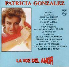 Patricia Gonzalez  La Voz del Amor     BRAND NEW SEALED  CD