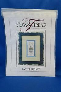 The-Drawn-Thread-EASTER-BASKET-Cross-Stitch-Chart-DR205-Spring-Eggs-2013-NEW