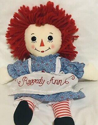 "Free Ship Aurora World Raggedy Andy Classic Doll 12/"" New"