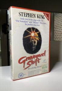 Graveyard-Shift-VHS-First-Release-Video-Stephen-King-1990-Horror-GC