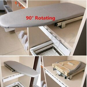 Image is loading Pull-Out-Folding-Ironing-Board-Plate-Car-Carbinet-