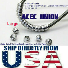 Metal Detail Up Seamless Power Energy Cable Pipe Sz L MG HG Gundam U.S.A. SELLER