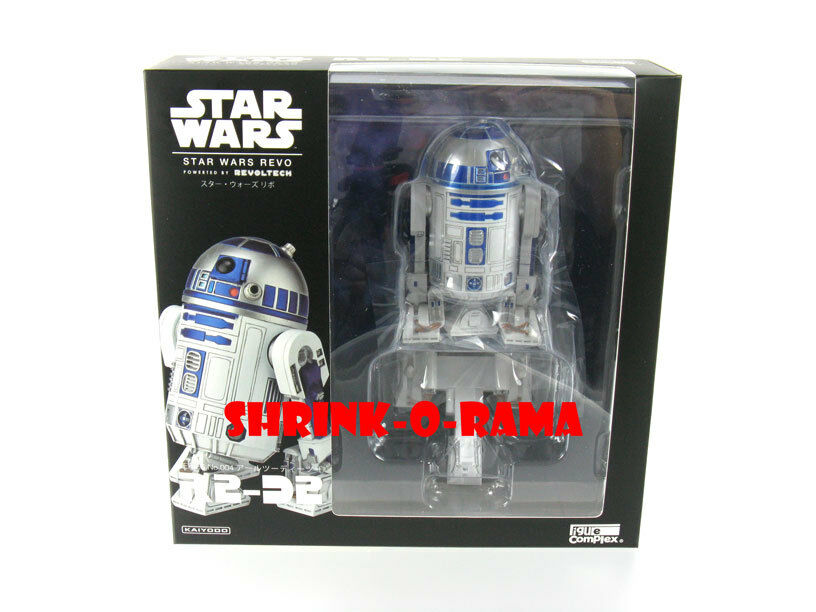 New in Box  Kaiyodo Revoltech Star Wars Revo 004 R2-D2 Action Figure