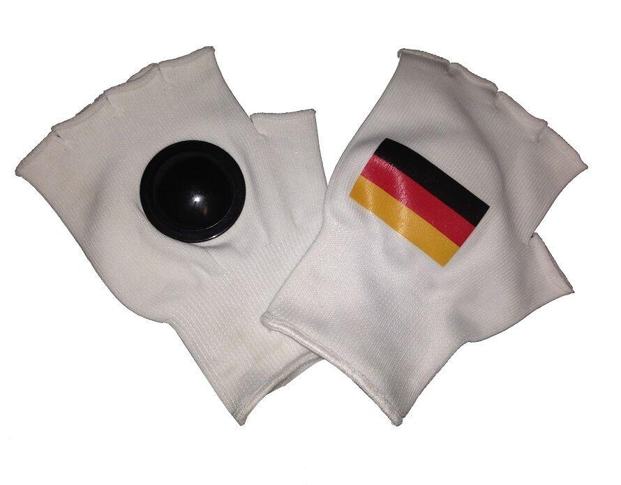 Clip Clappers potins potins potins Gants Allemagne Drapeau Football Wm Em fan ultra fort 57bd2a