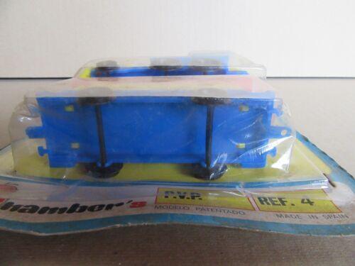 Kinderfahrzeuge 460G Shamber's 4 Spielzeug Plastik Spanien Zug 1896 far West
