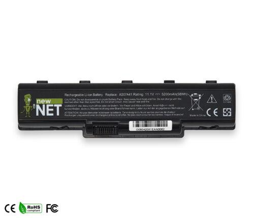 Batteria compatibile con Acer Aspire 5340 5535 5535G 5535Z 5542NWXMI 5200 mAh