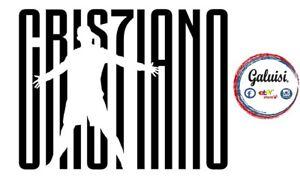 ADESIVO STICKER CR7 CRISTIANO RONALDO JUVENTUS prespaziato