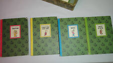 The Wonderful World of Walt Disney 4 Book Box Set Golden Press 1965