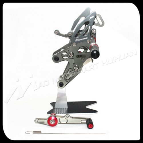 For BMW S1000RR HP4 2015 2016 2017 2018 rearsets foot pegs footrest rear set