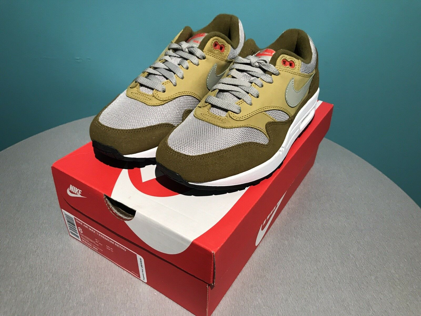 Nike Air Max 1 Premium Retro Men's 8 NEW Model 908366 300