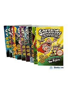 Captain-Underpants-10-books-Set-Collection
