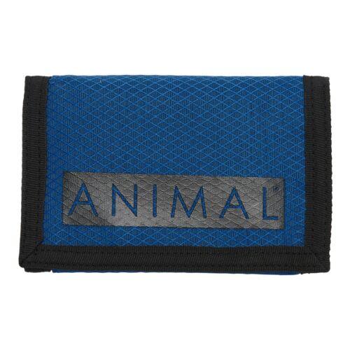 Animal Pour Homme Portefeuille dérangeants BLEU pour pièces de monnaie carte de crédit Argent Note Porte-monnaie 9 S 2//X69