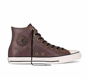 e4d9baa94aba Converse All Star Chuck CT Hi 149481C Burnt Umber Leather Women ...