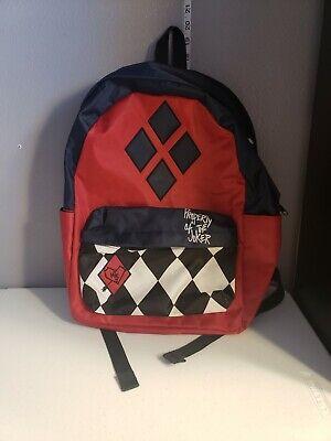 Suicide Squad Harley Quinn Property of Joker Backpack