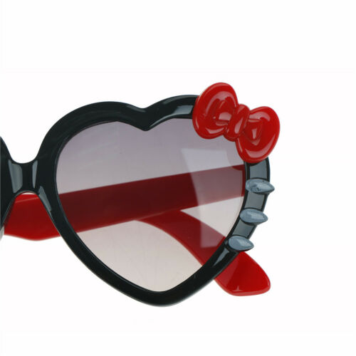 Kids Girls Boys Anti UV Bow Glasses Sunglasses Cartoon Heart Glasses Fashion  S