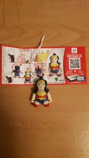 Kinder Surprise Egg toy superhero Wonder Woman 2018 Justice League