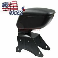 Usa Black Center Armrest Leatherette Console Box For Nissan Versa Tiida 07-15 7m
