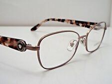 2bd9690130e Authentic VERSACE VE1210 1328 Pink Havana Gold Eyeglasses Frame DEMO MODEL   300