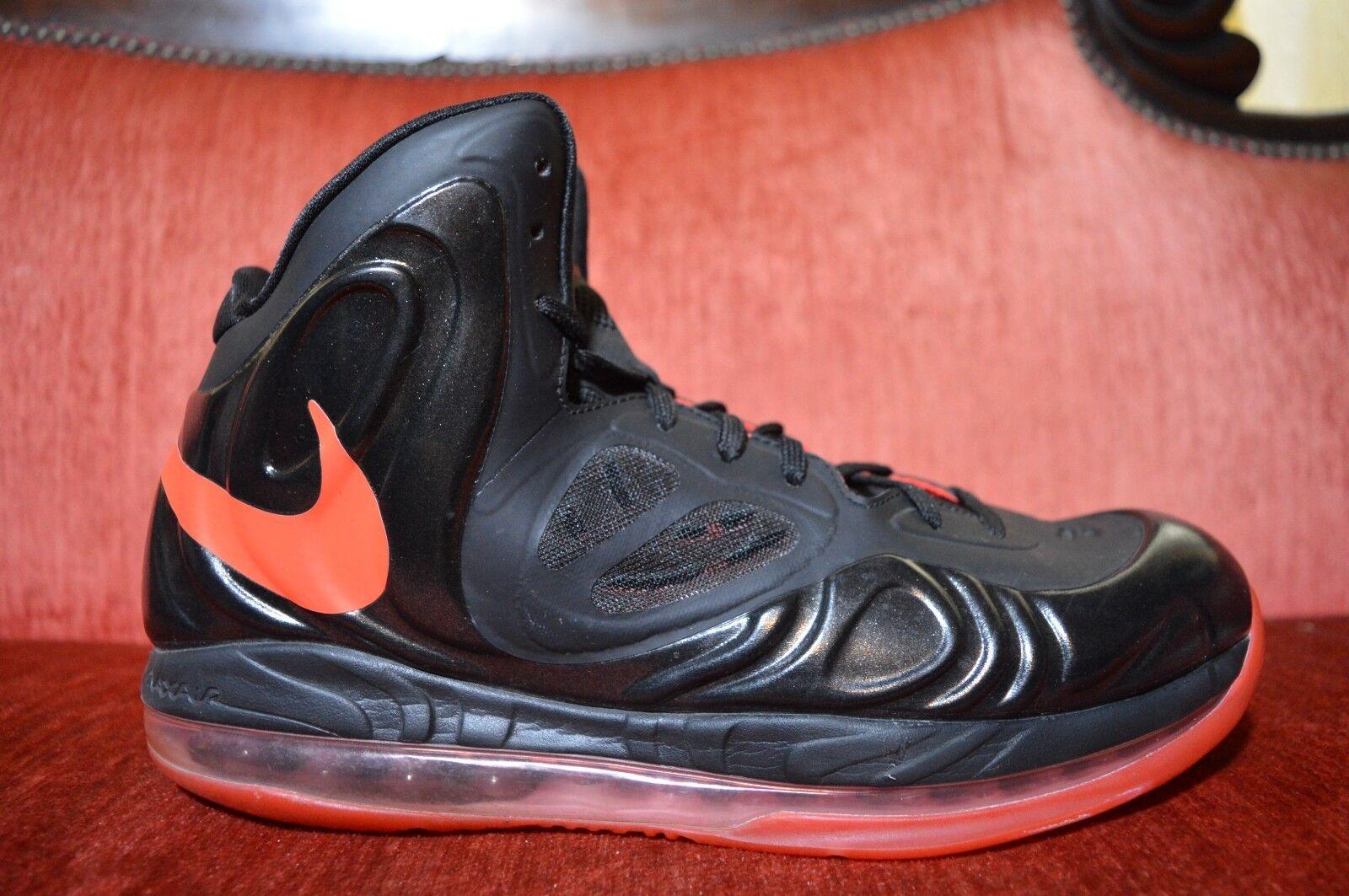 66733fe5817e ... Nike Air Max Black Hyperposite 524862-002 Black Max and Orange Mens  Size 9 Basketball ...