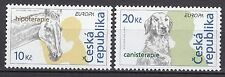 CZECH REPUBLIC 2006 MNH SC# 3308 - 3309  Europa (Horse and Dog)
