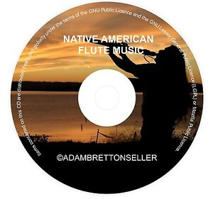 NATIVE-AMERICAN-FLUTE-MUSIC-CD-RELAXATION-CALMING-MEDITATION-STRESS-YOGA