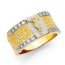 14K Lord's Prayer Ring EJMR34402