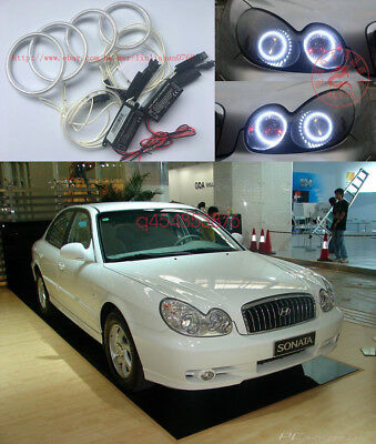 4X Excellent CCFL Angel Eyes kit For Hyundai Sonata Fourth generation 2002-2005
