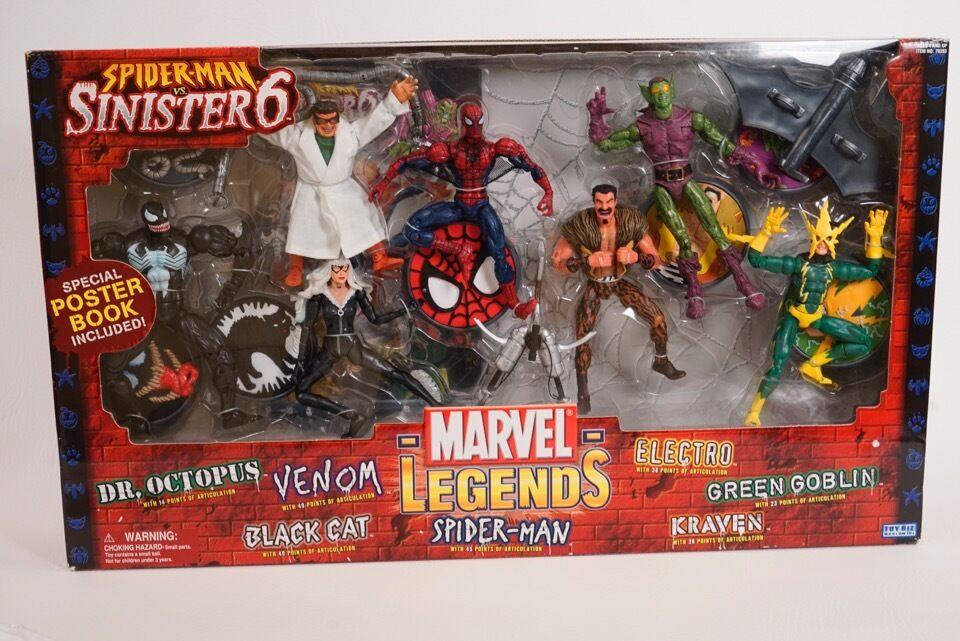 Marvel Legends Action Figure Boxed Set SpiderMan vs. vs. vs. The Sinister Six 960a59
