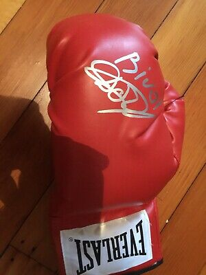GEORGE CHUVALO SIGNED AUTOGRAPHED EVERLAST BOXING GLOVE WITH  EXACT PROOF /& COA