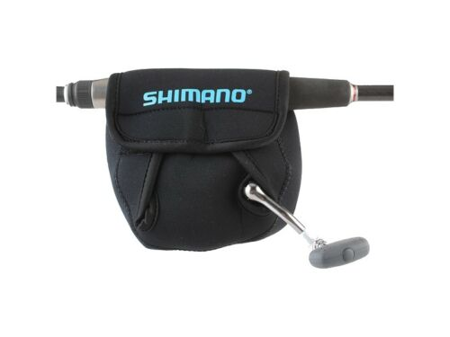 TWO 2  Shimano ANSC840A Neoprene Spinning Reel Covers Medium  2000-6000 Series
