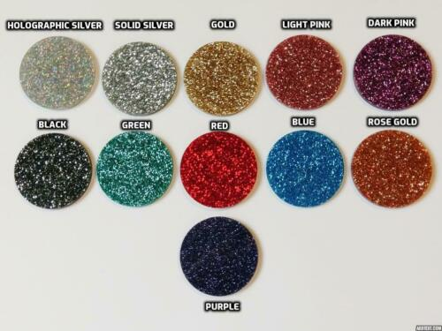 11 colour choices. Yorkshire Terrier Style A Glitter Christmas Decoration