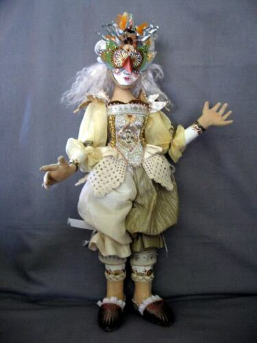 """*NEW* CLOTH ART DOLL PAPER PATTERN /""""DRESS REHEARSAL/"""" BY CHRISTINE SHIVELY"""
