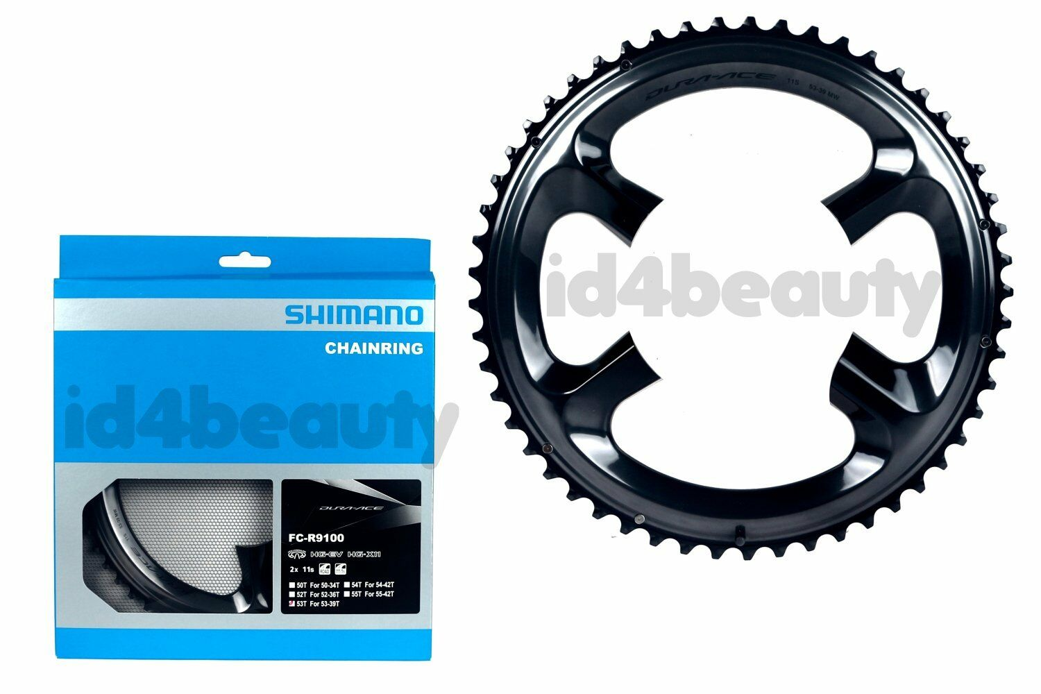 Shimano Dura Ace FC-R9100 Outer Chainring 53T-MW for 53-39T Road Bike NIB 1PC
