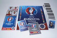 PANINI Euro 16 France 2016 - Komplettset Album + 84 Updates Star Edition Schweiz