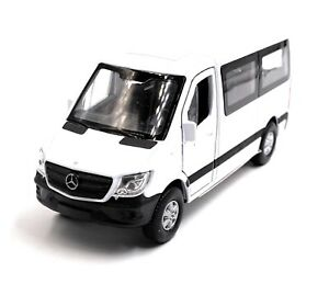 Mercedes-Benz-Sprinter-Window-White-Model-Car-Scale-1-3-4-Licensed