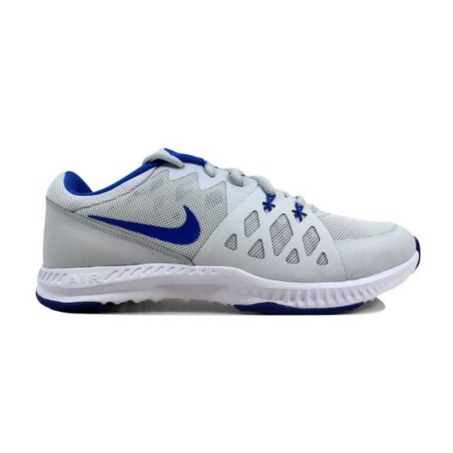 6ec38720aa3a74 Nike Air Epic Speed TR II 2 Pure Platinum hyper Cobalt 852456-014 Men s Sz  7.5 for sale online